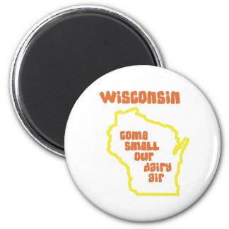 ウィスコンシンは臭いを私達の酪農場の空気来ます マグネット