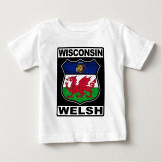 ウィスコンシンウェールズのアメリカ人 ベビーTシャツ