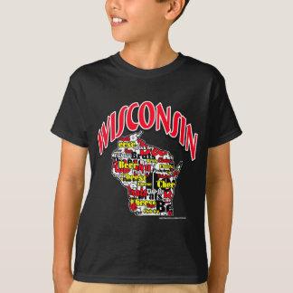 ウィスコンシンビールがきのチーズ魚揚げ物 Tシャツ