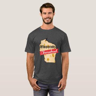 ウィスコンシンCheeseheadのワイシャツ Tシャツ