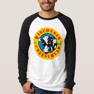 ウィスコンシンCheeseheadのTシャツ Tシャツ