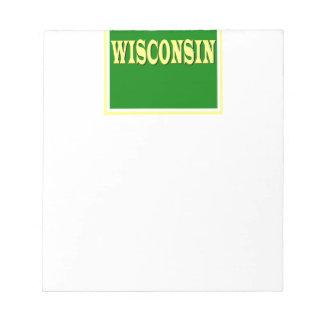 ウィスコンシンLLのメモ帳 ノートパッド