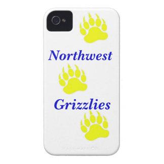 ウィチタの北西ハイイログマのiPhoneの場合 Case-Mate iPhone 4 ケース