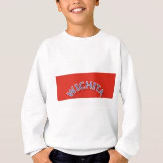 ウィチタの赤と白の子供のスエットシャツ スウェットシャツ