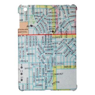 ウィチタのKSのヴィンテージの地図 iPad MINIカバー
