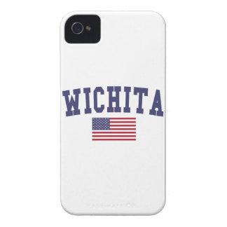 ウィチタは旗米国の落ちます Case-Mate iPhone 4 ケース