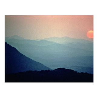 ウィチタ山の国民の野生生物の保護区 ポストカード