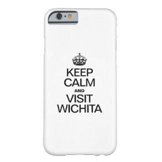 ウィチタ穏やか、訪問保って下さい BARELY THERE iPhone 6 ケース