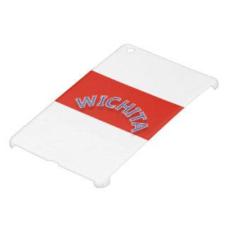 ウィチタ赤と白のiPad Mini iPad Miniケース