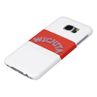 ウィチタ赤と白のSamsungの銀河系S6の箱 Samsung Galaxy S6 ケース
