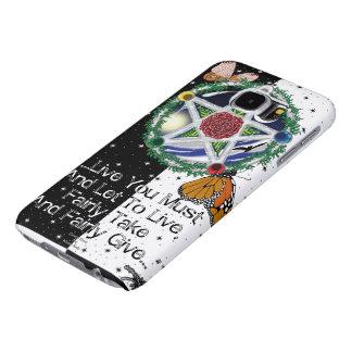 ウィッカ信者のRedeの銀河系S6の箱 Samsung Galaxy S6 ケース