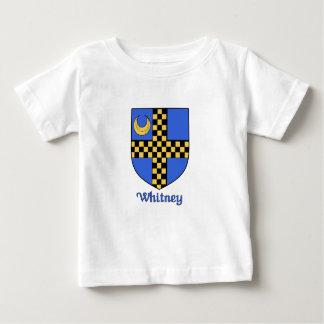 ウィットニー家族の盾 ベビーTシャツ