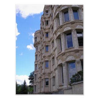 ウィニペグの城のアパート フォトプリント