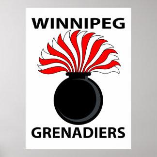 ウィニペグの擲弾兵-ポスター ポスター
