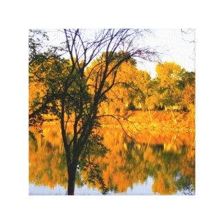 ウィニペグの秋 キャンバスプリント