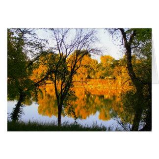 ウィニペグの秋 グリーティングカード