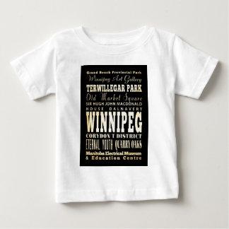ウィニペグ、カナダの魅力そして有名な場所 ベビーTシャツ