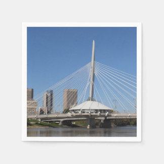 ウィニペグProvencher橋 スタンダードカクテルナプキン