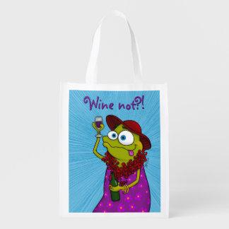 ウィニーはワイン、エコバッグを愛します エコバッグ