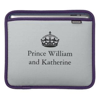 ウィリアムおよびカサリン王子 iPadスリーブ