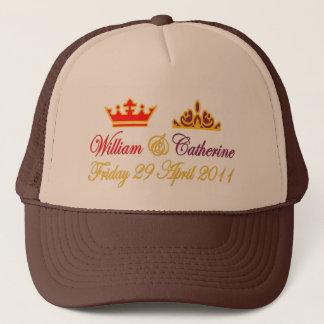 ウィリアムおよびキャサリンの王室のな結婚式 キャップ