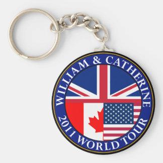 ウィリアムおよびキャサリン キーホルダー