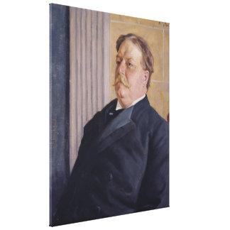 ウィリアムのバレンタインSchevillによるウィリアム・H・タフト キャンバスプリント