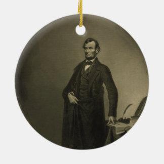 ウィリアムのパテによるエイブラハム・リンカーン セラミックオーナメント