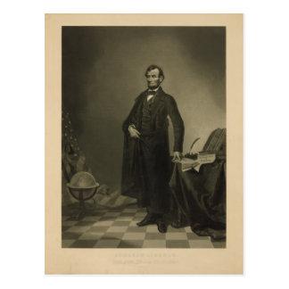 ウィリアムのパテによるエイブラハム・リンカーン ポストカード