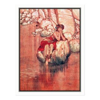 ウィリアムのヒースロビンソン-水ベビー ポストカード