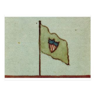 ウィリアムのマックスウェルの組の旗 ポストカード