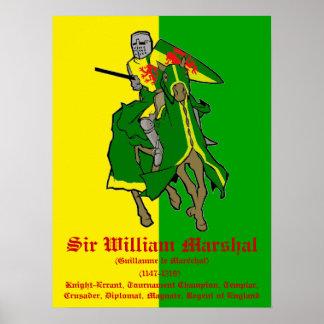 ウィリアムの元帥のトーナメントのチャンピオンポスター ポスター