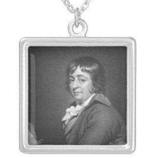 ウィリアムの区によって刻まれるジョージMorland 1805年 シルバープレートネックレス