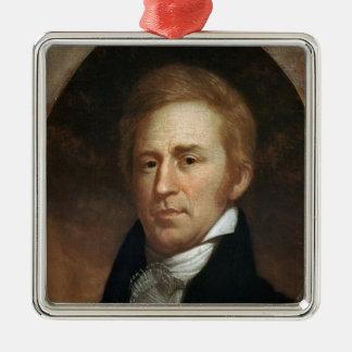 ウィリアムクラーク、c.1807のポートレート メタルオーナメント