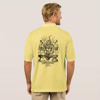 ウィリアムジョンソン紋章付き外衣はワイシャツの襟首をつかみました ポロシャツ