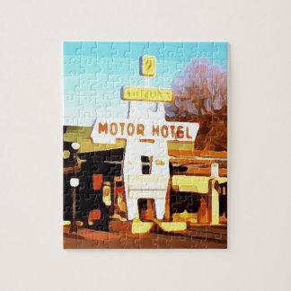 ウィリアムスのモーターホテル ジグソーパズル