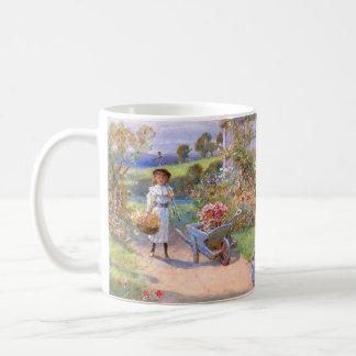 ウィリアムスティーブンColeman: 花園 コーヒーマグカップ