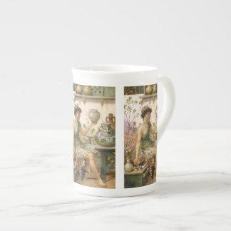 ウィリアムスティーブンColeman: 陶工の娘 ボーンチャイナカップ