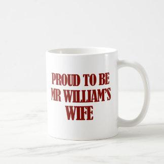 ウィリアムス夫人のデザイン コーヒーマグカップ