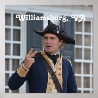 ウィリアムズバーグの兵士 ポスター