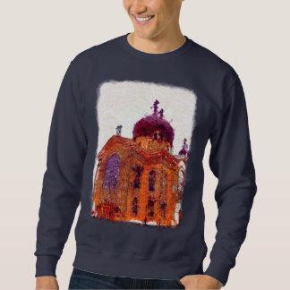 ウィリアムズバーグブルックリンのロシア人教会 スウェットシャツ