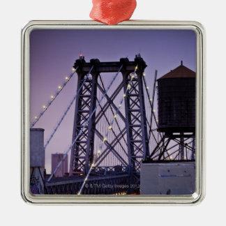 ウィリアムズバーグ橋 メタルオーナメント