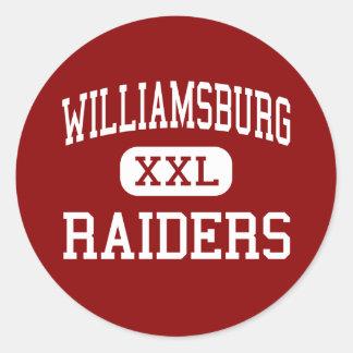ウィリアムズバーグ-侵入者-高ウィリアムズバーグアイオワ ラウンドシール