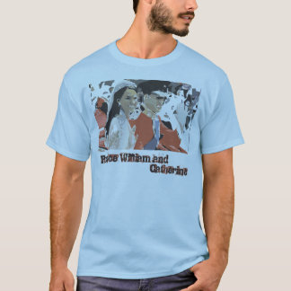ウィリアム及びキャサリン王子 Tシャツ