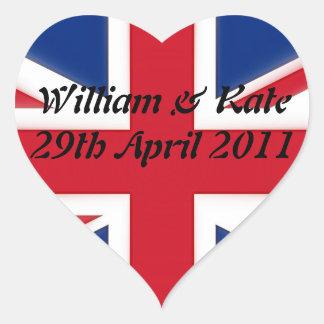 ウィリアム及びKate - 2011年4月29日 ハートシール