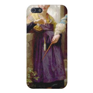 ウィリアム・アドルフ・ブグロー、紡績工 iPhone 5 ケース