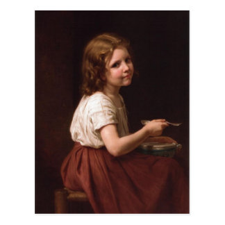 ウィリアム・アドルフ・ブグロー(1825-1905年) -スープ(186 ポストカード