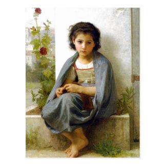 ウィリアム・アドルフ・ブグロー(1825-1905年) - Littl ポストカード
