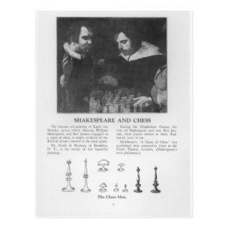 ウィリアム・シェイクスピアおよびベンJonson ポストカード
