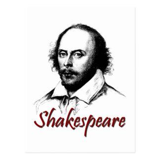 ウィリアム・シェイクスピアのエッチング ポストカード
